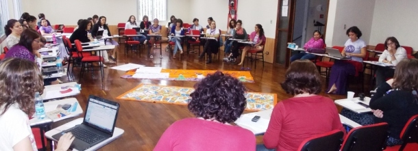 La CN Brésil s'est réunie entre le 16 et 18 mars pour discuter, entre autres sujets, de la préparation de la rencontre.