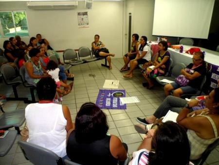 Plenária da Marcha em Pernambuco. Foto: Gabriela Braga.