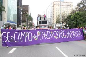 Manifestação da MMM na Avenida Paulista, 31/08. Foto: Lia Jupter.